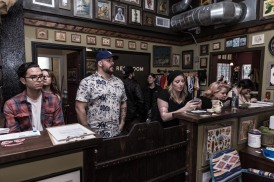 The crowd at Thunderbird Tattoo