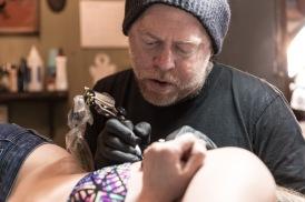 Roger Seliner, owner of Thunderbird Tattoo